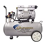 California Air Tools 6010LFC 1.0 HP Ultra Quiet and Oil-Free Industrial Air Compressor, 6.0-Gallon